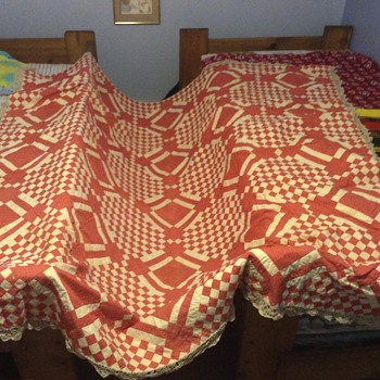 Inherited antique quilt - Sewing