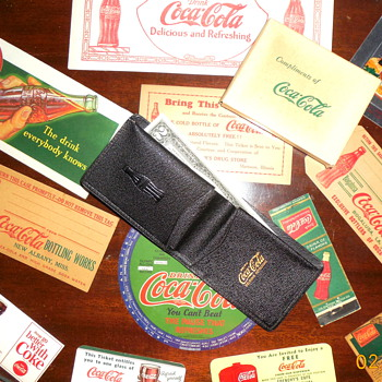 1930's Coca-Cola Billfold - Coca-Cola