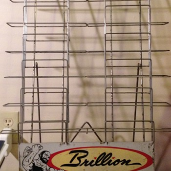Brillion Iron Works Display Rack - Advertising