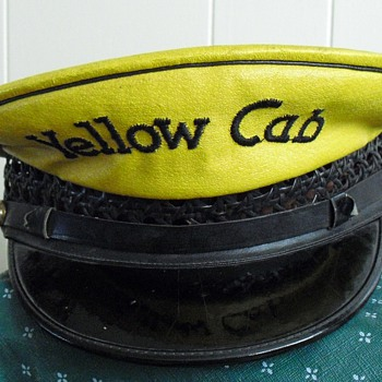 Yellow cab hat