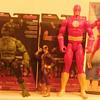 Added Marvel Legends Avengers Hulk and Batroc andD.C.comics 12 inch  the Flash