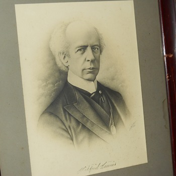 "Post 1 of 3 Wilfrid Laurier Etching""Adams"" Circa 1909, Happy Canada Day's, CW Members - Visual Art"