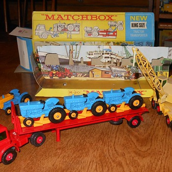 Matchbox K-20 Tractor Transporter 1968 - Model Cars