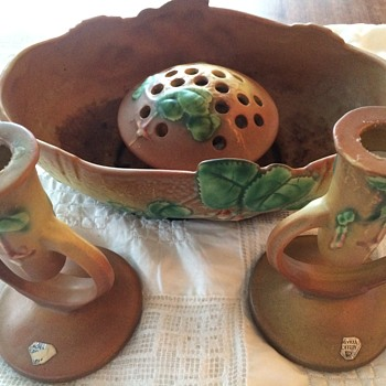 Holds a lot of roses - Art Pottery
