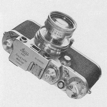 1954 - Leica Camera Advertisement - Advertising