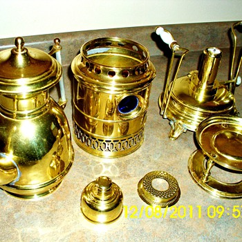 1900-1901 coffee makerwith burner - Kitchen