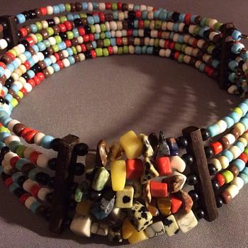 Stunning bead choker