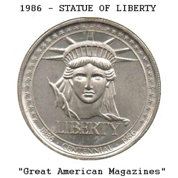 Statue of Liberty Medal - Great American Magazines