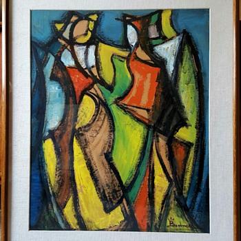 Bertalan Bodnar Original Painting