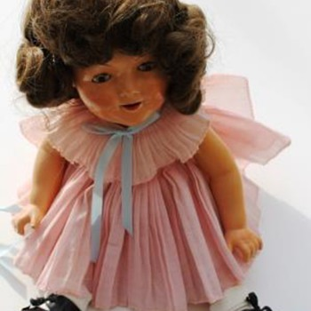 Shirley Temple Doll from Havana, Cuba circa 1934/1935