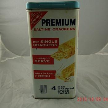 Nabisco Cracker Tins - Advertising
