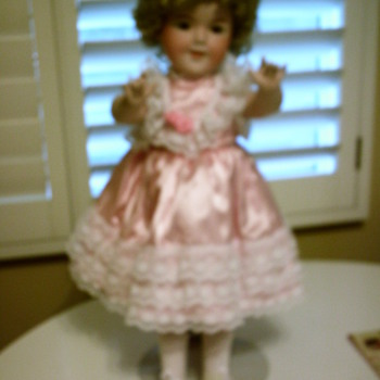 Porcelain Shirley Temple Doll, Collector's   - Dolls