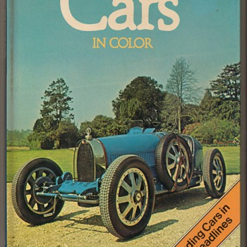 1980 Cars in Color Book - Books