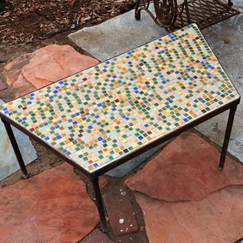 Those tiny arts & crafts tiles put to use... - Art Pottery