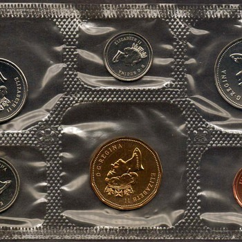 1995 - Canada Proof-Like Coins Set