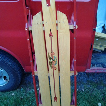 Antique Runner Sled - Sporting Goods