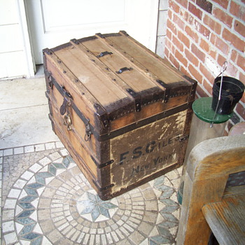 Small Trunk  Restored  - Furniture