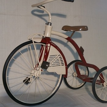Restored 1940s AMF Junior tricycle