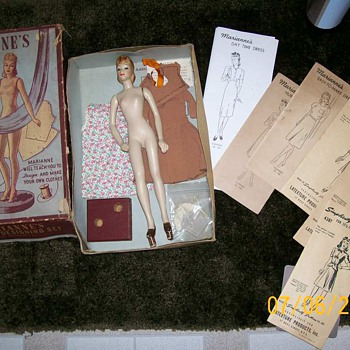 Simplicity Latexture Mannequin doll 1940&#039;s