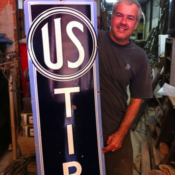 U S Tires 1930&#039;s sign