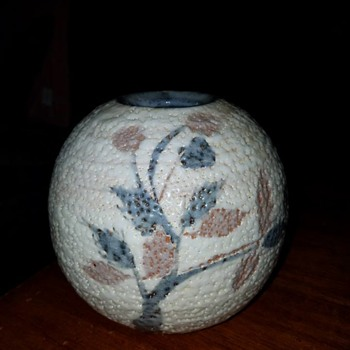 Floral Vase - Pottery