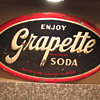 Grapette Soda Sign