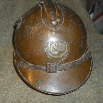 French Model 1915 Helmet for Colonial Troop - Military and Wartime