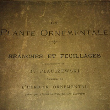 La Plante Ornamentale Branches Et Feuillages  - Books