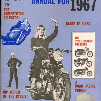 """Official Motorcycle Annual For 1967"" Magazine"
