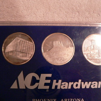 ACE Hardware coins 1990--What are they worth?? - Advertising
