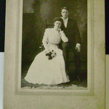 Vintage Wedding Photograph - Photographs