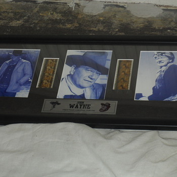 John Wayne Original Filmcell limited edition #364:1000 - Movies