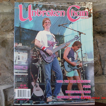 From my Grateful Dead Collection is Unbroken Chain Magazine from April/May/June 1996 - Music