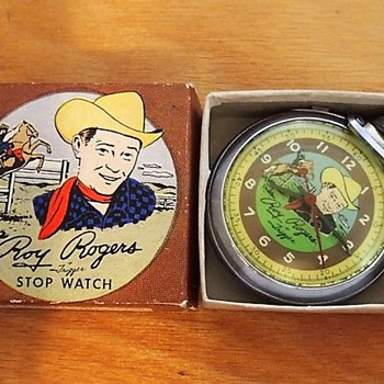 Cowboy Time.... 1956 Roy Rogers Pocket Watch - Pocket Watches
