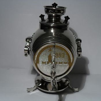 My Russian 1980 Olympic Samovar - Sterling Silver