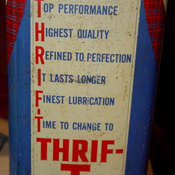 Thrift - T  Special Motor Oil  - Petroliana