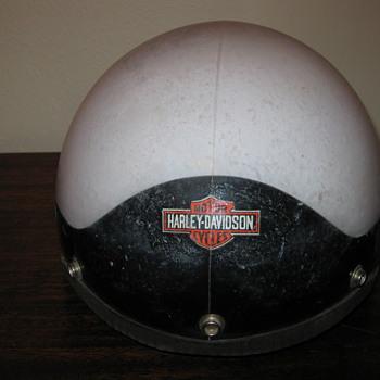 Vintage Harley Davidson Motorcycle Helmet!!!!!!