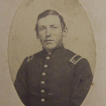 Civil War CDV of Heroic Bucktail Soldierwho died at Gettysburg