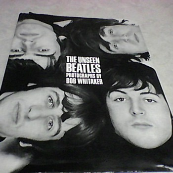 THE UNSEEN  BEATLES PHOTOGRAPHS  1991 FIRST EDITION