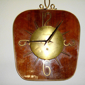 Phinney Walker Wall Clock, 1935 -40 - Art Deco