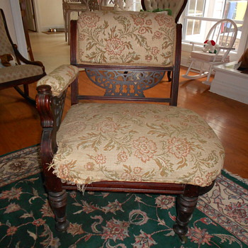 old chair - please help with info - thanks --pete