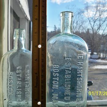 Hartshorn Bottles - Bottles