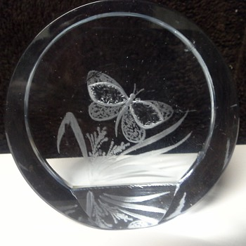 Strombergshyttan Paperweight - Art Glass