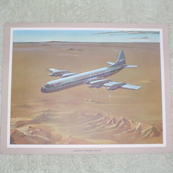 Lockheed Electra Airplane Print - Posters and Prints