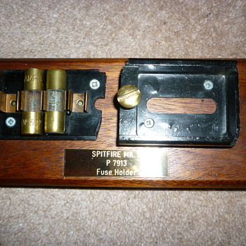 WW11 Spitfire Fuses - Military and Wartime