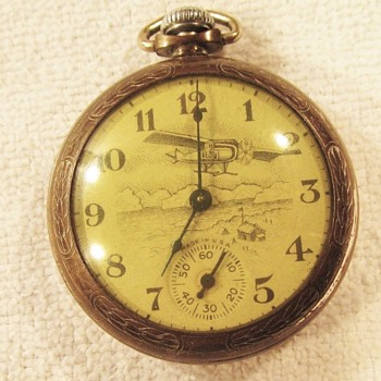 """Trail Blazers"" Byrd Antartic Pocket Watch - Pocket Watches"