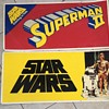 Star Wars and Superman poster
