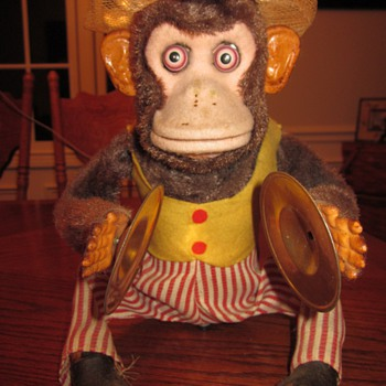 1960's Mechanical Toy Chimp - Dolls