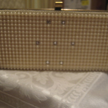 Plastic (Metal Frame) Box Purse, 1950s