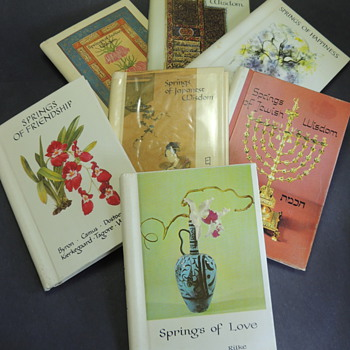 Springs of.... Seven Miniature Books - Books